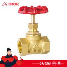 La venta entera de China forjó la válvula de parada de cobre amarillo de alta calidad cw617n del latón natural