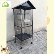 Luxury parrot cage with plastic tray
