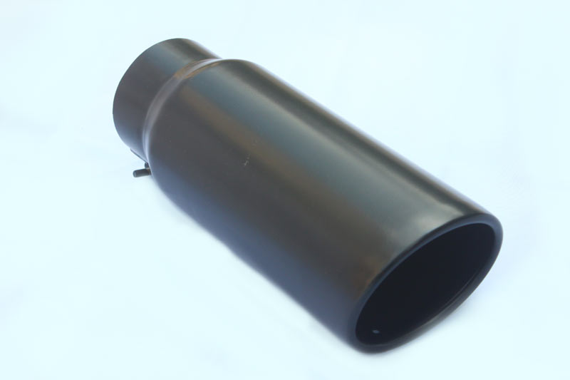 Black coating Exhaust Tip