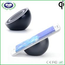 Chargeur sans fil Chargeur sans fil Qi de haute qualité Chargeur de téléphone émetteur pour Samsung Galaxy S7 (Noir)
