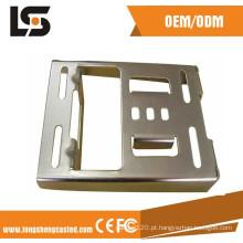 Alojamento de solda do CNC da fabricação de chapa metálica que carimba as peças