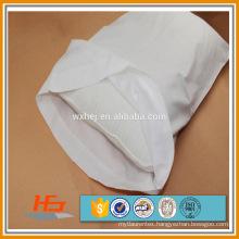 cheap white polycotton/ polyester / cotton percale hotel pillow cases
