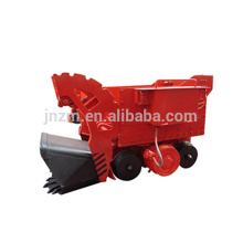 electric underground mining rock loader/mining tunnel mucking machine