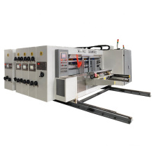 Corrugated Carton Box Automatic Rotary Die Cutting And Creasing Machine