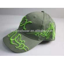 Haute qualité en gros en pierre lavé coton bonnet de baseball