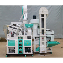 small automatic 1 ton per hour mill rice machine plant