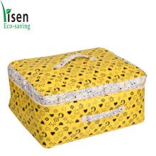 Algodón lindo organizador de bolsa para la ropa de cama (YSOB00-005)