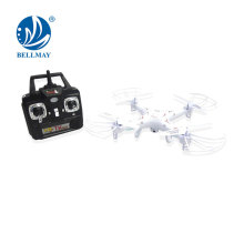 2,4 GHz 4.5 Channel 6 Axis Gyro RC Drone 360 ​​grados Rolling Quadcopter con cámara de 2MP HD RC Multicopteros