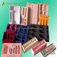 Flocage d'emballages plastiques en plastique