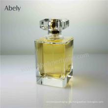 Botella de perfume pulida de lujo con el casquillo de Surlyn