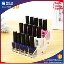 Sujetadores de uñas de acrílico Clear, porta-labios