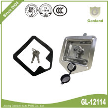 Truck Tralier Parts Toolbox Recessed Paddle Lock Latch