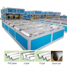 Machine automatique de purge de tuyaux en PVC entièrement automatique