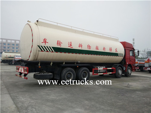 35000L Bulk Cement Powder Tank Trucks