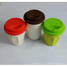 (BC-C1035) Copo de café de bambu da fibra do projeto elegante