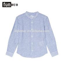 Criança adorável T-shirt vestido crianças ventilam luz azul tops Criança T-shirt