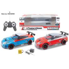 4 пульт дистанционного contorl каналов автомобиль игрушки с батареей
