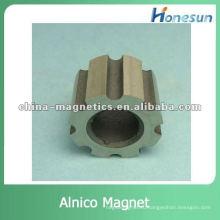 высокое качество рифленая литой алнико магнит-кольцо