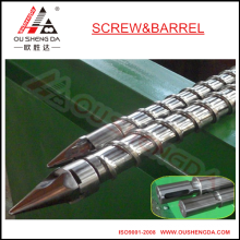 wear resistant Tungsten Alloy Screw for Injection moulding machine/single screw with anti corrosion