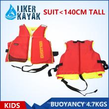 Criança / Kids Colete de vida inflável / colete de flutuação