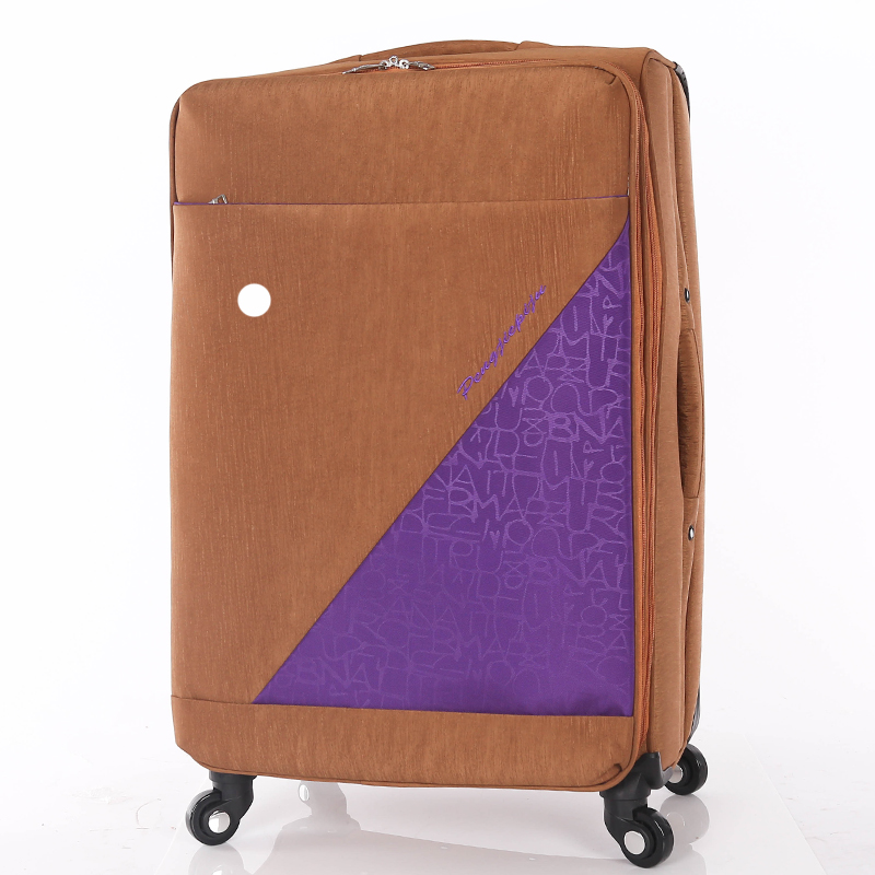 Functional travel suitcase