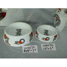 Ceramic Dog Bowls (CY-P5781)