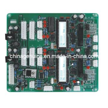 Control de la placa base Zcheng con boquilla doble