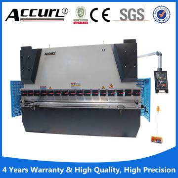 Kleine Pressbremse mit 40t Druck für 2000mm langes Aluminium