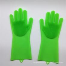 Губчатые перчатки для мытья посуды