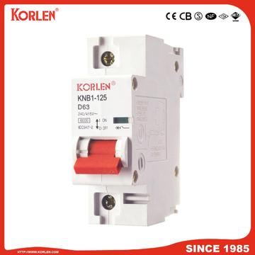 125A High Current 6ka Economic Miniature Circuit Breaker