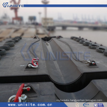 water floating platform for marine building and dredging (USA-2-009)