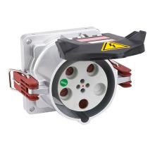 Prise électrique de prise de récipient de réfrigérant à CA de la broche 400V d'IP67 200A 5