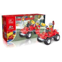 Firefighters Serie Designer Feuer Vierradantrieb Fahrzeug Block Spielzeug