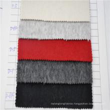 2017 latest design alpaca wool fabric for men and women coat