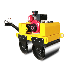 Мини-дизельный двигатель с двойным стальным катком