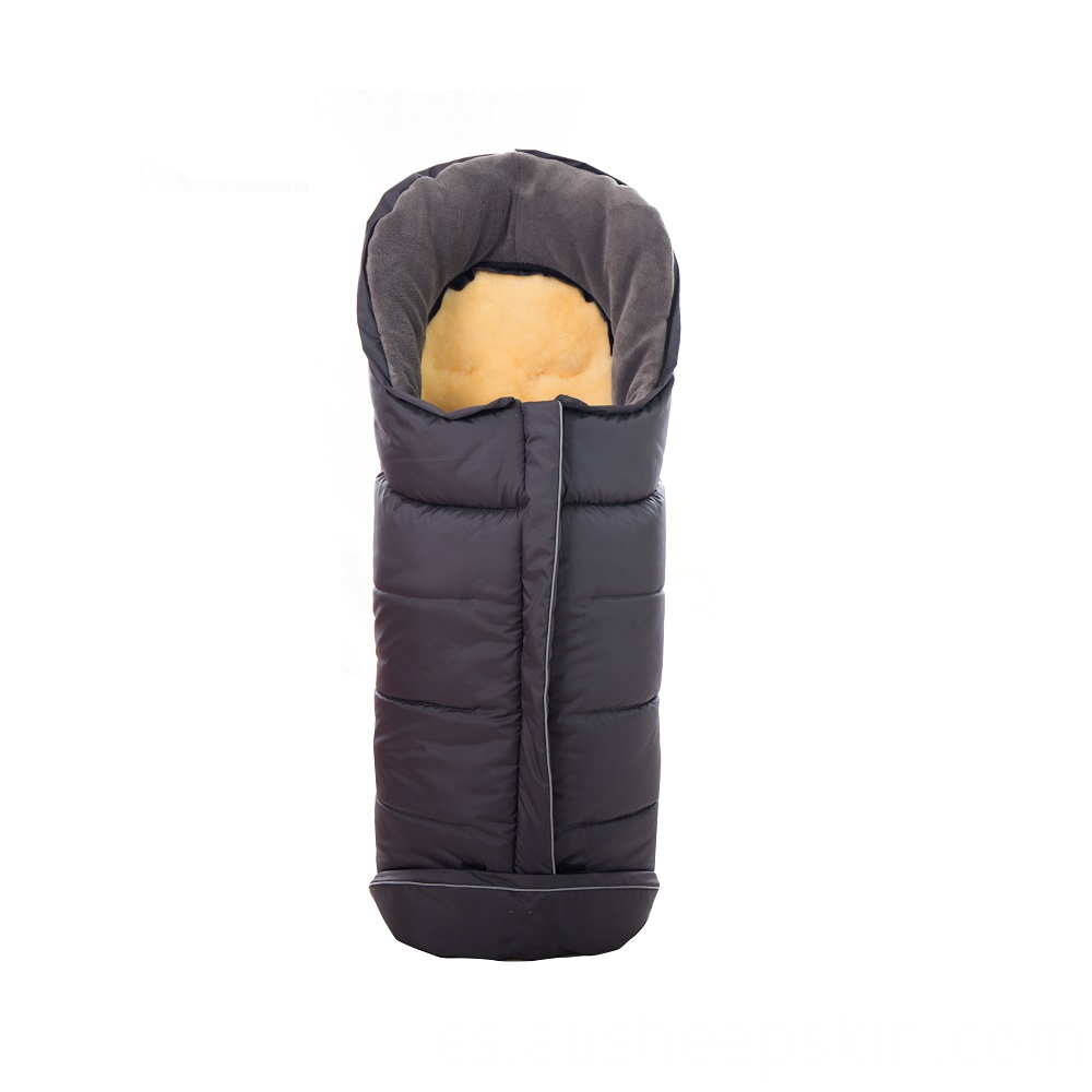 sheepskin stroller baby sleeping bag