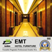 Luxuriöse dekorative Hotel-hölzerne Wandpaneele (EMT-F1208)