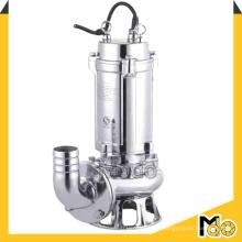 Pompe d'assèchement submersible en acier inoxydable Ss316