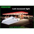 IP66 Luz LED embutida exterior para iluminação da estação de gás