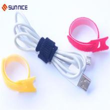 Atadura de cables personalizados con gancho y lazo para trabajos pesados