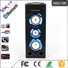 BBQ KBQ-166 25W 3000mAh 2016 Hot Selling Wireless Tower Home Theater Speaker