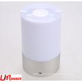 Портативный беспроводной сенсорный сенсорный светодиодный светильник с диммированием 3 уровня Теплый белый свет и шесть цветов Изменение RGB
