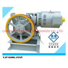 Máquina de tração Motor de elevador VVVF YJF160WL