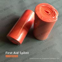 Erste-Hilfe-Schiene mit gebrochenem Arm