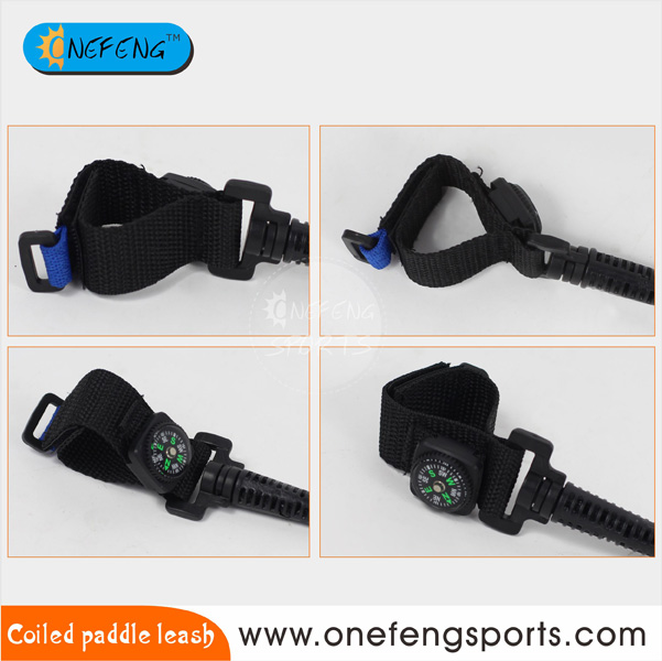 Kayak enrollado paddle leash