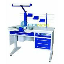 poste de travail dentaire (personne seule) (équipements de laboratoire dentaire) (modèle: AX-JT7) (homologué CE)