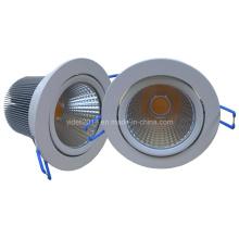Techo regulable ajustable COB LED Downlight 15W CE SAA