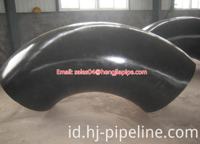 LR seamless pipe elbow