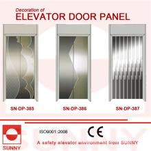 Panel de la puerta de St St Etching para la decoración de la cabina del elevador (SN-DP-385)