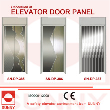 St. St Etching painel da porta para a decoração da cabine do elevador (SN-DP-385)